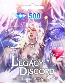 legacy of discord - furious wings 500 diamonds mobile gtarcad