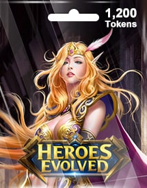 heroes evolved 1,200 tokens mobile r2 games