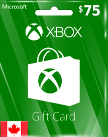 xbox live gift card cad75 ca