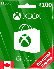 xbox live gift card cad100 ca discount promo