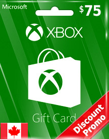 xbox live gift card cad75 ca discount promo