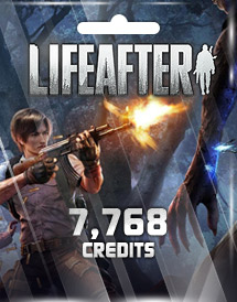 lifeafter 7,768 credits mobile