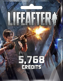 lifeafter 5,768 credits mobile