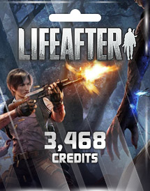lifeafter 3,468 credits mobile