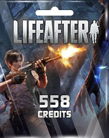 lifeafter 558 credits mobile