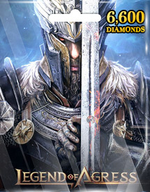 legend of agress 6,600 diamonds mobile seasun game