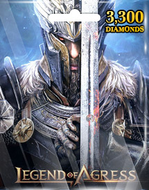 legend of agress 3,300 diamonds mobile seasun game