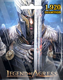 legend of agress 1,920 diamonds mobile seasun game