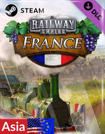 railway empire - france dlc steam key [asia/emea/us]