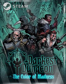 darkest dungeon: the color of madness steam key [global]