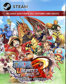 one piece: unlimited world red deluxe edition steam [global]