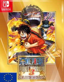 one piece: pirate warriors 3 deluxe switch key [eu]