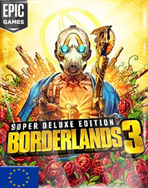 borderlands 3 super deluxe edition epic store key [eu]