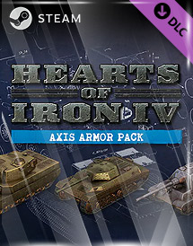 hearts of iron iv: axis armor pack dlc steam key [global]