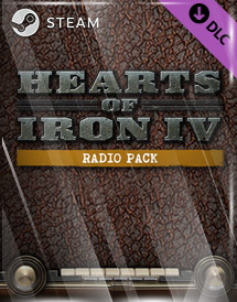 hearts of iron iv: radio pack dlc steam key [global]