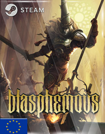 blasphemous steam key [eu]