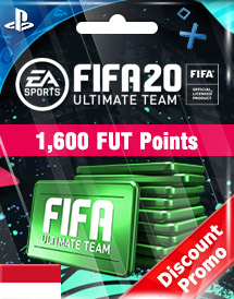 fifa 20 1,600 fut points ps4 id discount promo