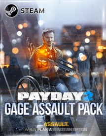 payday 2: gage assault pack steam key [global]