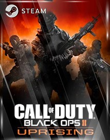 call of duty: black ops ii - uprising steam key [global]