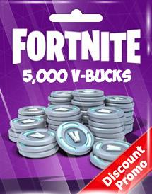 Fortnite V Bucks Discount Code Cheap Fortnite 5 000 V Bucks Card Discount Promo Offgamers Online Game Store Jul 2021