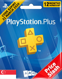 playstation plus 12-month subscription code sg price slash