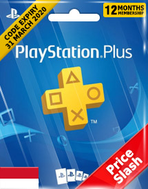 playstation plus 12-month subscription code id price slash