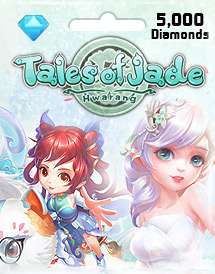 tales of jades: hwarang 5,000 diamonds id eyougame
