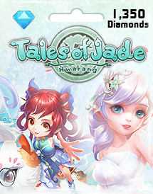 tales of jades: hwarang 1,350 diamonds id eyougame