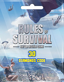 rules of survival 30 diamonds code