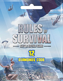 rules of survival 12 diamonds code