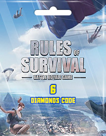 rules of survival 6 diamonds code
