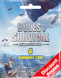 rules of survival 6 diamonds code discount promo