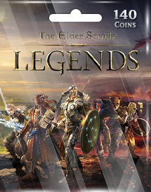 the elder scrolls: legends 140 coins mobile