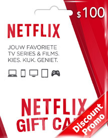 netflix usd100 gift card us discount promo
