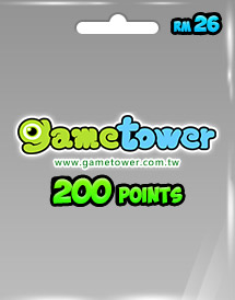 gametower 200 gt points rm26.00 my