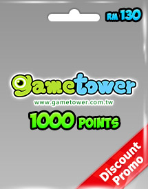 gametower 1000 gt points rm130.00 my discount promo
