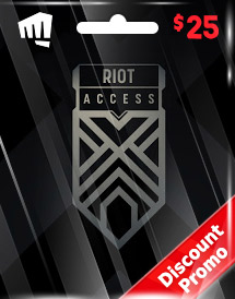 riot access code usd25 us discount promo