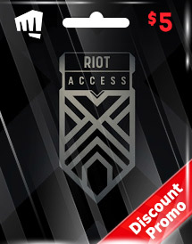 riot access code usd5 us discount promo
