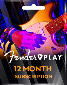 fender play 12 month subscription global