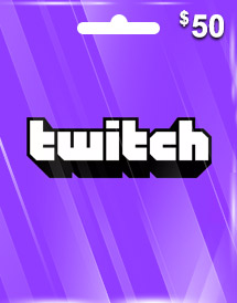 twitch gift card usd50