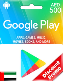 google play aed500 gift cards ae discount promo