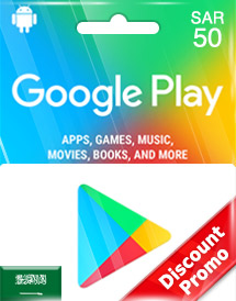 google play sar50 gift cards sa discount promo