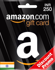 amazon gift card inr250 in discount promo