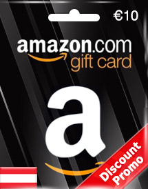 amazon gift card eur10 at  discount promo