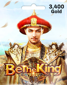 be the king 3,400 gold mobile