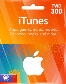 itunes twd300 gift card tw