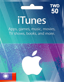 itunes twd50 gift card tw