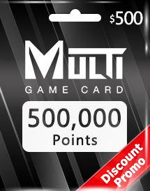 multi game card 500,000 points global discount promo
