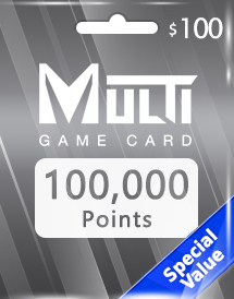 multi game card 100,000 points global*