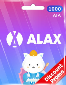 alax 1,000 aia token global discount promo